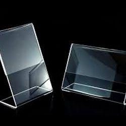 display acrílico mesa